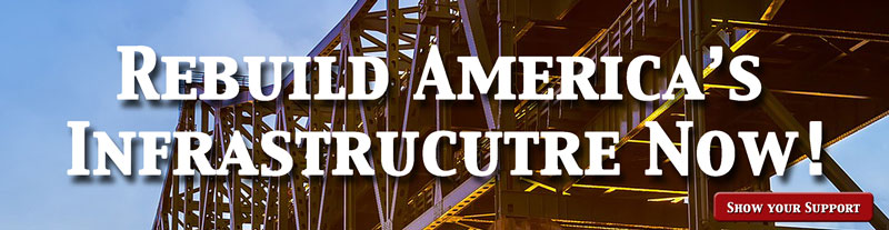 Show your support for improving America's Infrastrucutre, including Rural Broadband.