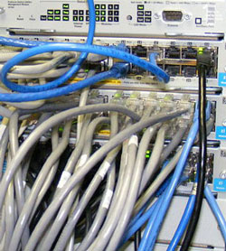Copper bandwidth can substitute for fiber at an attractive price.