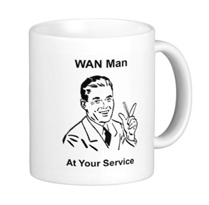 Wan Man at Your Service coffee mugs and more....